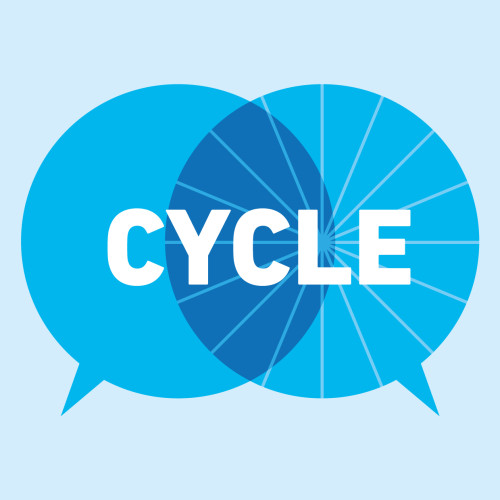 059_15 CYCLE Logo Blue